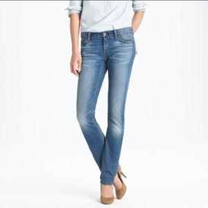 J.Crew Matchstick jeans 28
